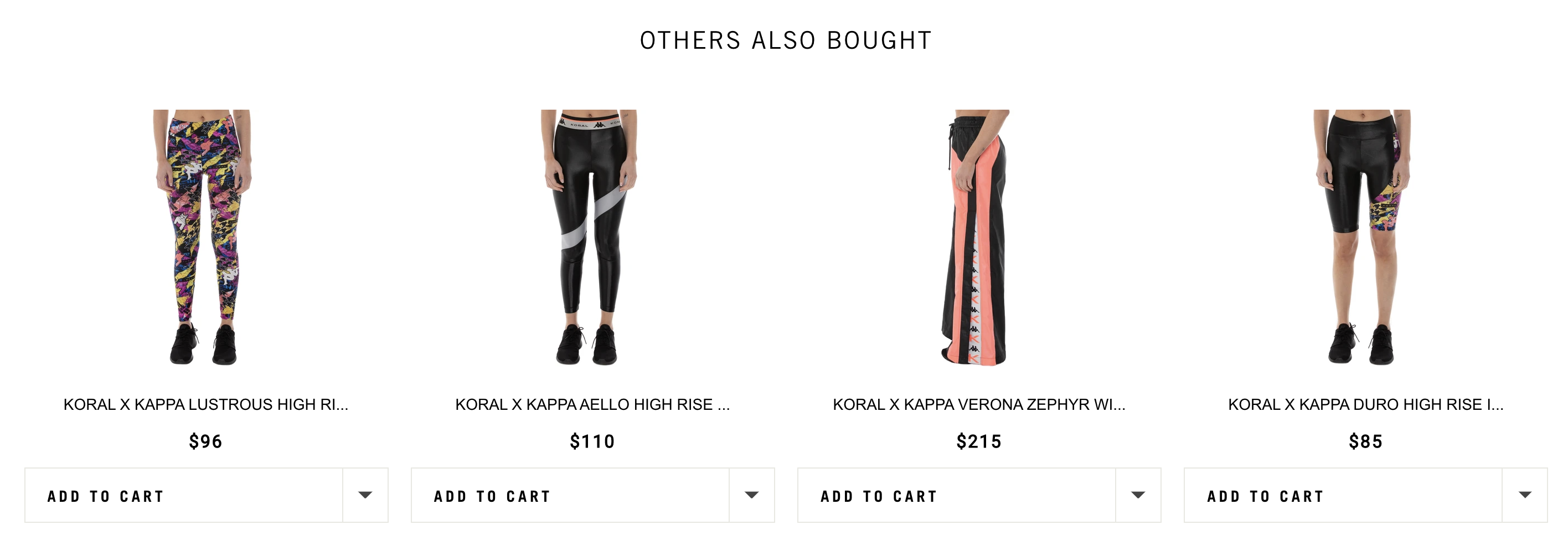 kappa usa product recommendations with wiser
