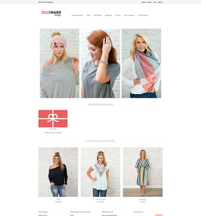 42ff9bbd560147 Website Design Portfolio | E-commerce Web Design, Development ...